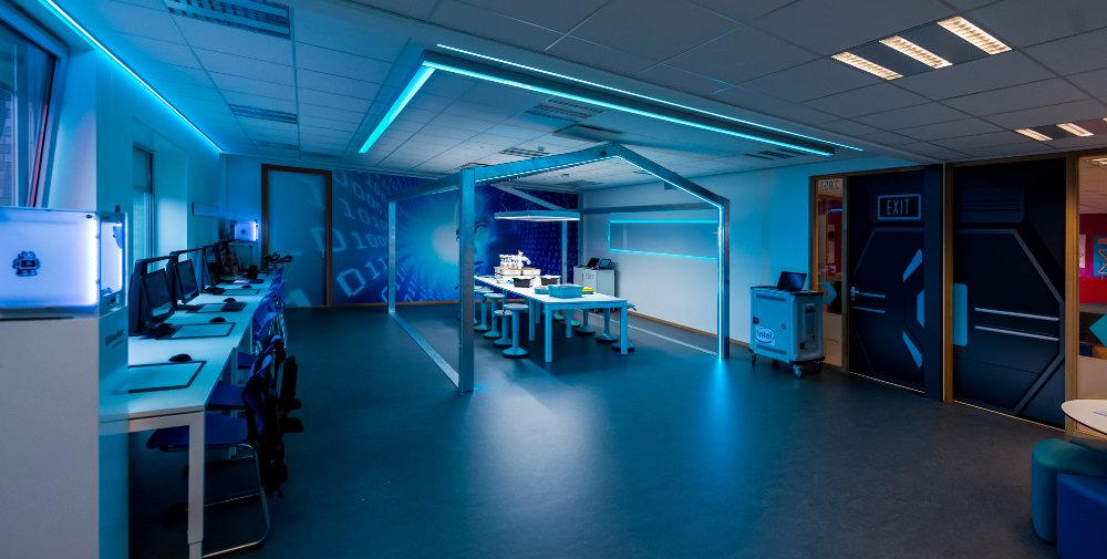 Medialab Amstelveen College met focus op robotica